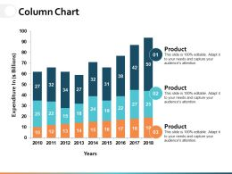 Column Chart Ppt Powerpoint Presentation File Diagrams