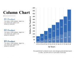 Column Chart Ppt Slides Download