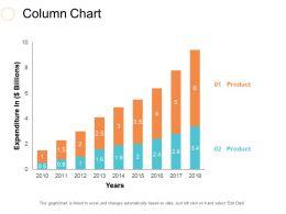 Column Chart Ppt Slides Inspiration