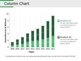 Column Chart Presentation Slides
