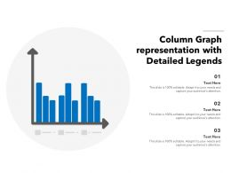 Column Graph Representation With Detailed Legends
