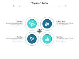 Column Row Ppt Powerpoint Presentation Professional Inspiration Cpb