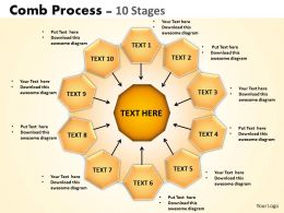 Comb Process 10 Stages 1