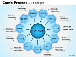 Comb Process 11 Stages 1