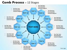 Comb Process 12 Stages 1