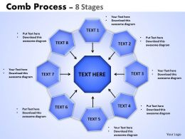 Comb Process 8 Stages 1