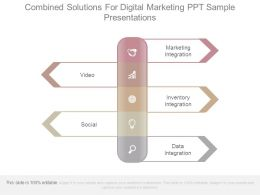 Combined Solutions For Digital Marketing Ppt Sample Presentations