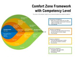 Comfort Zone Framework With Competency Level