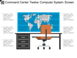 Command Center Twelve Computer System Screen