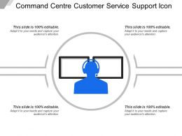 Command Centre Customer Service Support Icon