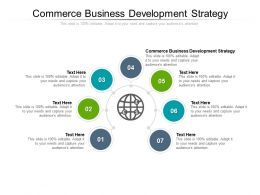 Commerce Business Development Strategy Ppt Powerpoint Presentation Inspiration Slideshow Cpb