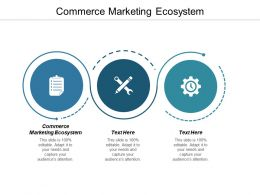 Commerce Marketing Ecosystem Ppt Powerpoint Presentation Gallery Graphic Images Cpb