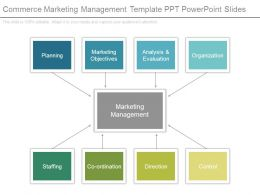 Commerce Marketing Management Template Ppt Powerpoint Slides