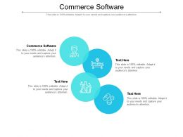 Commerce Software Ppt Powerpoint Presentation Clipart Cpb