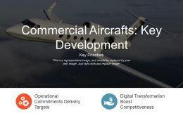 Commercial Aircrafts Key Development Presentation Graphics