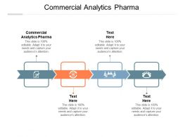 Commercial Analytics Pharma Ppt Powerpoint Presentation Ideas Graphics Cpb