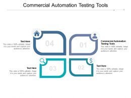 Commercial Automation Testing Tools Ppt Powerpoint Presentation Layouts Format Ideas Cpb