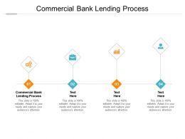 Commercial Bank Lending Process Ppt Powerpoint Presentation Show Cpb
