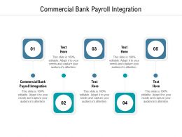 Commercial Bank Payroll Integration Ppt Powerpoint Presentation Outline Mockup Cpb
