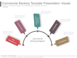 Commercial Banking Template Presentation Visuals