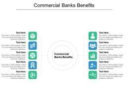 Commercial Banks Benefits Ppt Powerpoint Presentation Styles Mockup Cpb