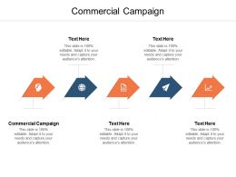 Commercial Campaign Ppt Powerpoint Presentation Infographics Cpb