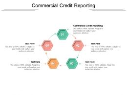 Commercial Credit Reporting Ppt Powerpoint Presentation File Aids Cpb