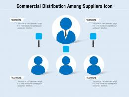 Commercial Distribution Among Suppliers Icon