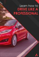 Commercial Driving School Two Page Flyer Brochure Template