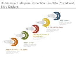 Commercial Enterprise Inspection Template Powerpoint Slide Designs