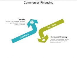 Commercial Financing Ppt Powerpoint Presentation Gallery Design Inspiration Cpb