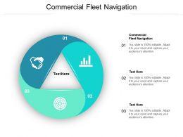 Commercial Fleet Navigation Ppt Powerpoint Presentation Show Inspiration Cpb