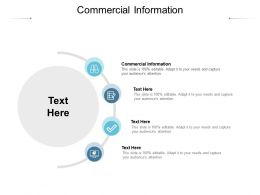 Commercial Information Ppt Powerpoint Presentation Outline Cpb