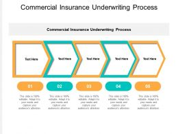 Commercial Insurance Underwriting Process Ppt Powerpoint Presentation Cpb