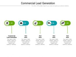 Commercial Lead Generation Ppt Powerpoint Presentation Model Rules Cpb