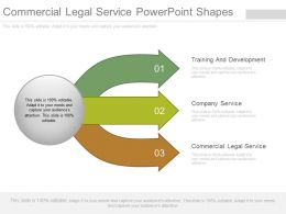Commercial Legal Service Powerpoint Shapes