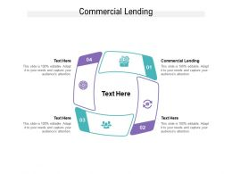 Commercial Lending Ppt Powerpoint Presentation Show Cpb
