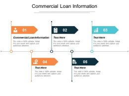Commercial Loan Information Ppt Powerpoint Presentation Infographics Ideas Cpb