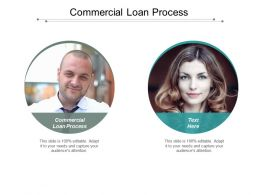 Commercial Loan Process Ppt Powerpoint Presentation Pictures Gridlines Cpb