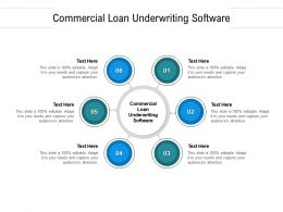 Commercial Loan Underwriting Software Ppt Powerpoint Infographics Display Cpb