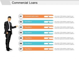 Commercial Loans Ppt Powerpoint Presentation File Pictures Cpb