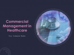 Commercial Management In Healthcare Powerpoint Presentation Slides