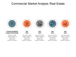 Commercial Market Analysis Real Estate Ppt Powerpoint Presentation Ideas Graphics Cpb