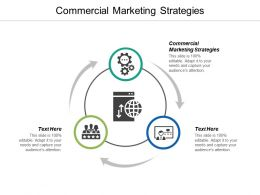 Commercial Marketing Strategies Ppt Powerpoint Presentation Pictures Slide Cpb