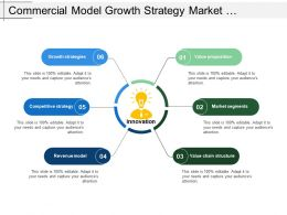 Commercial Model Growth Strategy Market Segments Revenue Model