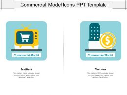 Commercial Model Icons Ppt Template