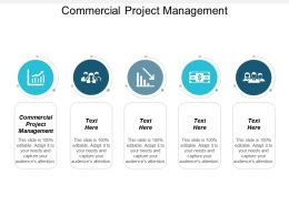 Commercial Project Management Ppt Powerpoint Presentation Gallery Display Cpb