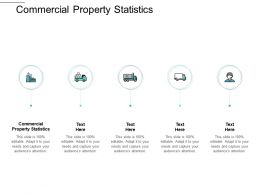 Commercial Property Statistics Ppt Powerpoint Presentation Icon Ideas Cpb