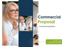 Commercial Proposal Powerpoint Presentation Slides