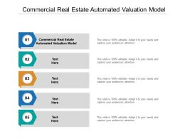 Commercial Real Estate Automated Valuation Model Ppt Powerpoint Presentation Ideas Display Cpb